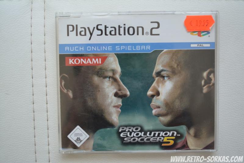 PS2 Promo Pro Evolution Soccer 5 | Jewel Cases | Retro-Sorkas