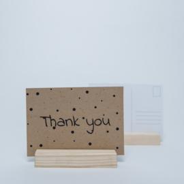 Thank you | Kraftpapier