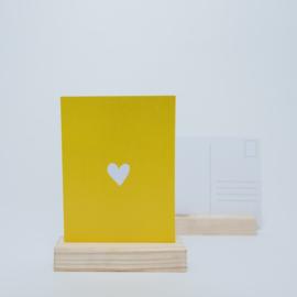 Hartje geel
