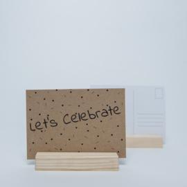 Let's celebrate | Kraftpapier