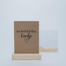 Een lief klein kindje | Kraftpapier
