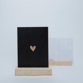 Hartje zwart | Kraftpapier