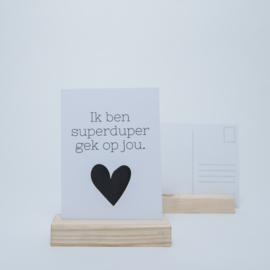 Superduper gek op jou