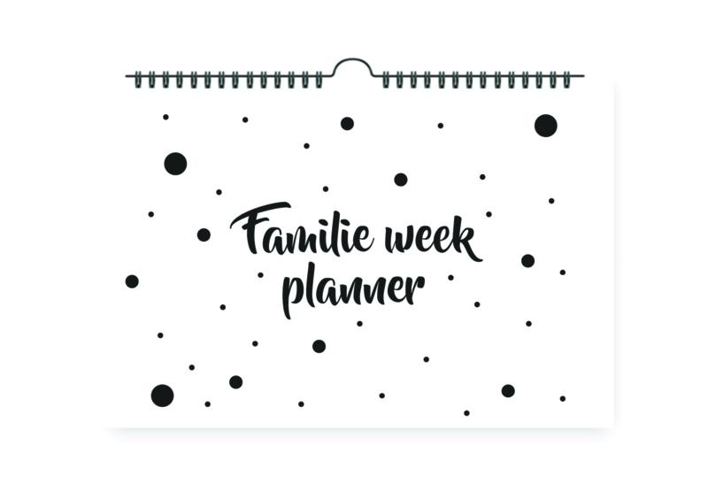 Familie week planner