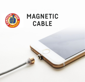 Magnetic Cable voor Android (Goudkleurig)