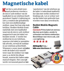 Magnetic Cable  voor iPhone (Zilverkleurig)
