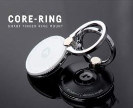Core-Ring, universele telefoon ring / standaard (zilverkleurig)
