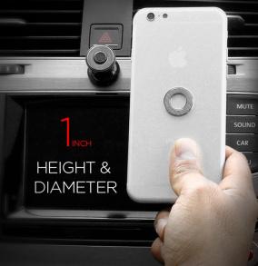 Bull's Eye - Universele telefoonhouder met magneet voor in de auto
