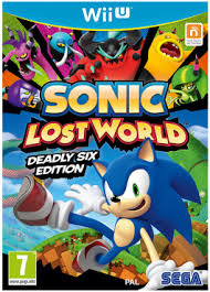 Sonic Lost World Deadly Six Edition - Wii U