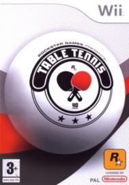 Table Tennis Rockstar Games Presents - Wii
