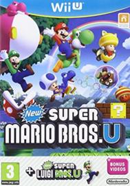 New Super Mario Bros U and New Super Luigi U