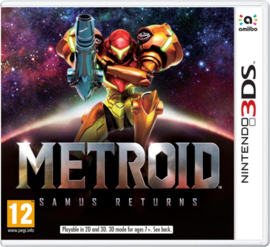 Metroid Samus Returns - 3DS