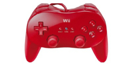 Classic Controller Pro Rood - Wii