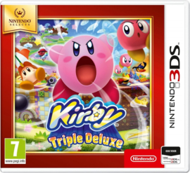 Kirby Triple Deluxe Selects - 3DS