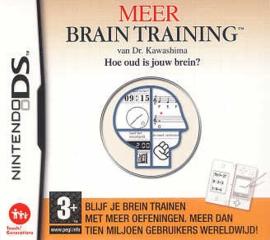 Meer Brain Training van Dr. Kawashima Hoe oud is jouw brein?