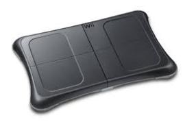 Balanceboard zwart - Wii