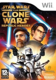 Star Wars The Clone Wars Republic Heroes - Wii