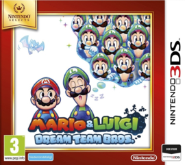 Mario & Luigi Dream Tream Bros Selects