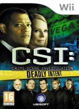 CSI Crime Scene Investigation Deadly Intent - Wii