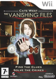 Cate West The Vanishing Files - Wii