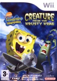SpongeBob SquarePants Creatuur van de Krokante Krab - Wii