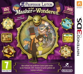 Professor Layton en het Masker der Wonderen (Losse Cartridge) - 3DS