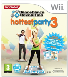 Dance Dance Revolution Hottest Party 3 incl Dansmat - Wii