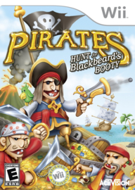 Pirates Hunt For Blackbeard's Booty - Wii