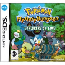 Pokémon Mystery Dungeon Explorers of Time - DS