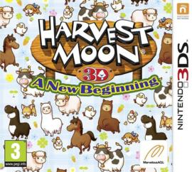Harvest Moon 3D A New Beginning - 3DS