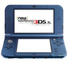 New Nintendo 3DS XL Metallic Blue