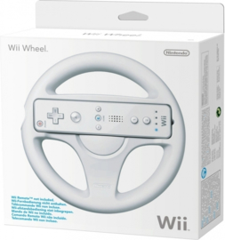 Wii Wheel Wit & Boxed