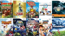 Wii Spellen Lijst