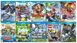 Wii U spellen lijst