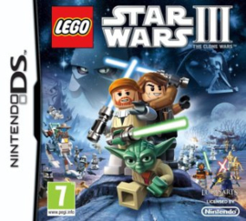 LEGO Star Wars III The Clone Wars - DS