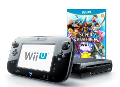 Wii U 32 GB Premium Super Smash Bros