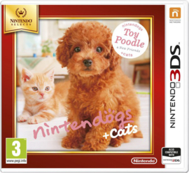 Nintendogs + Cats Toy Poodle Nintendo Selects