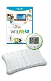 Wii Fit U & Fit Meter & Balanceboard - Wii U