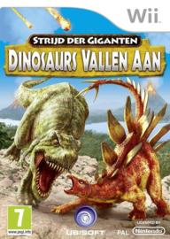 Strijd der Giganten Dinosaurs Vallen Aan - Wii
