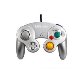 Gamecube Controller Zilver