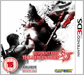 Resident Evil The Mercenaries 3D - 3DS