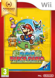 Super Paper Mario Nintendo Selects - Wii