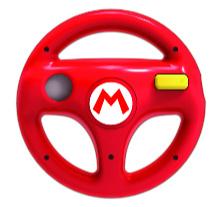 Hori Mario Wii Wheel