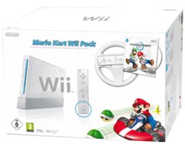 Mario Kart Wii Pack wit Limited Edtion in doos