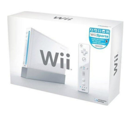 Wii wit Sports Pack in doos