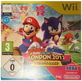 Mario en Sonic op de Olympische Spelen Londen 2012 in karton - Wii