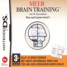 Meer Brain Training van Dr. Kawashima: Hoe oud is jouw brein? - DS