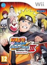 Naruto Shippuden Clash of Ninja Revolution 3 - EU Version - Wii