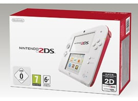 Nintendo 2DS Wit Rood