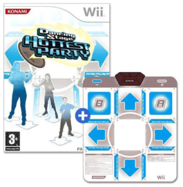 Dancing Stage Hottest Party + Dansmat - Wii
